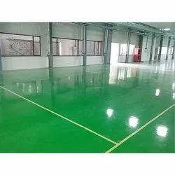 Glossy Epoxy Flooring
