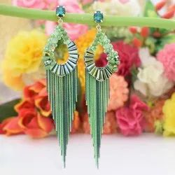 Alloy Party, Wedding Swam Creations Ladies Green Imitation Earring