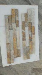 Brown Multi Stone Wall Panel
