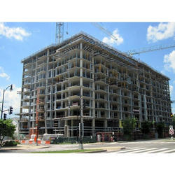 Concrete Frame Structures Apartment Construction Service in Local