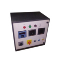 Sheet Metal Single Phase Electric Control Panel, Ip Rating: Ip40