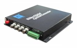 4 Channels Digital Video Optical Transceiver