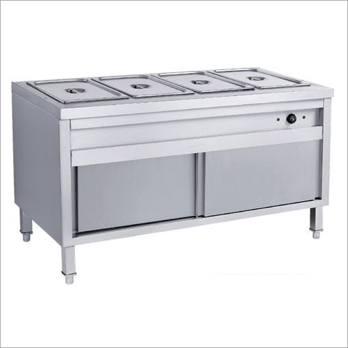 Stainless Steel SBE Bain Marie Snack Counter
