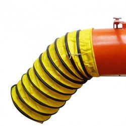 Collapsible Hose For Fume Exhauster