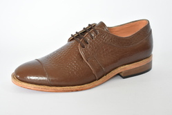 Men's Formal Shoes Leather Fall Oxfords Black / Yellow/ brown