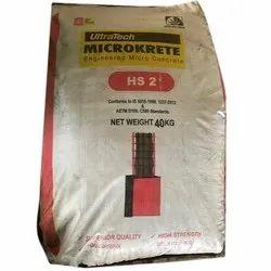 UltraTech Microkrete HS2 Micro Concrete, Packaging Type: Bag, 40 Kg