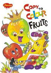 Copy To Colour Fruits Book