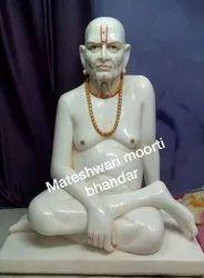 Swami Samarth Marble Statue