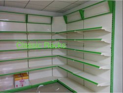 Glass Supermarket Racks