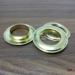 25mm Brass Eyelets & Washers Golden
