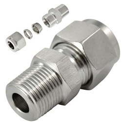 Stainless Steel Pipe Connectors with Ferrule Fittings