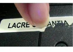 Destructible Label