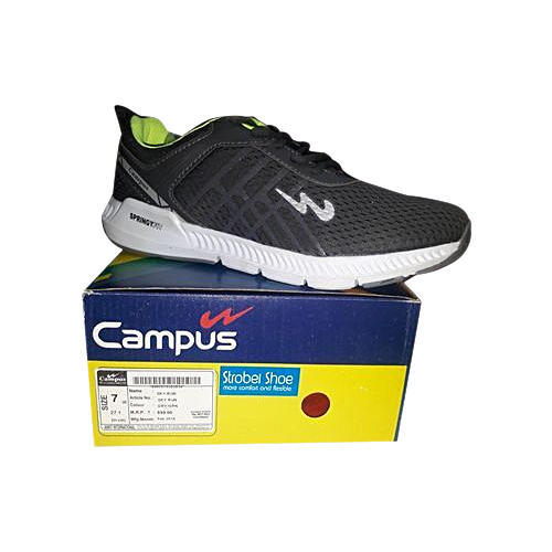 the latest 7ae77 5752e Campus Sky And Green Running Shoes, Size  7