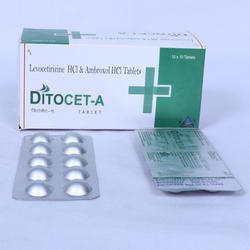 Levocetirizine and Ambroxol Tablet