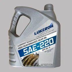 Lukeron EP -220 Gear Oil, Packaging Type: Can