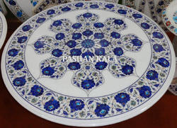 Marble Flower Inlay Table Top