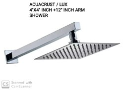 Ultraslim Shower 4x4 Square