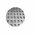 Rectangular Hole Perforated Circular Sheet