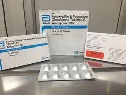 Amoxycillin and Potassium Clavulanate 625mg Tablets