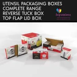 Utensil Packaging Box