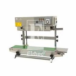 Table Top Vertical Continuous Band Sealer Machine