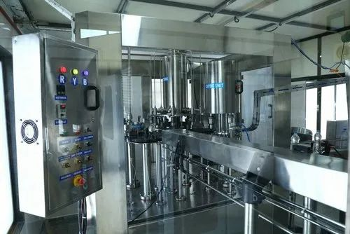 Rinsing, Filling and Capping Plant - 24 BPM Rinsing, Filling