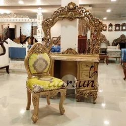Wooden Antique Dressing Table for Home