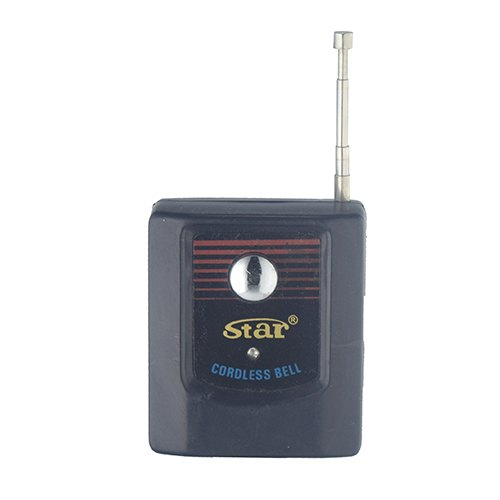 Star Cordless Bell, Plastic, for Office