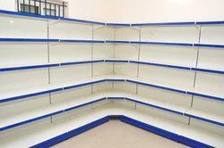 Glass Shelf Corner Rack