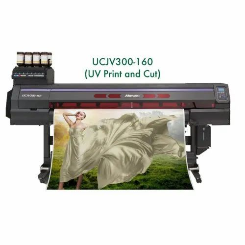 Mimaki UCJV300-160 UV LED Roll to Roll 5 feet Print & cut machine