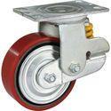 Spring Loaded Cast PU Wheel In TTR Series