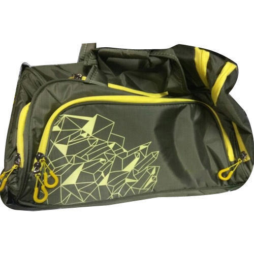 Polyester Travel Bag Printed Duffle Side Bag a643b3379d3cf