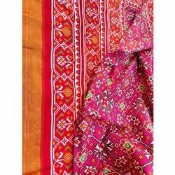 Fancy  Double Ikkat Patan Patola Saree