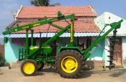 Tractor Mounted Auger Drilling Rig Only Mounting