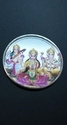 Aashirwad Jewellers 20 Gm. Coloured Laxmi Ganesh Saraswati Silver Coin