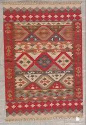Cotton Rectangular Hand Tufted Carpets, Size: 6X4 Feet