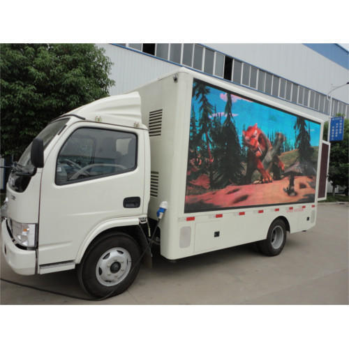 P6 Outdoor Mobile Truck Digital Led Screen & Signs Advertising Van