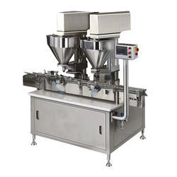 Dual Head Powder Filler Machine