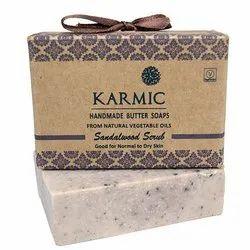 Sandalwood Scrub Soap, Packaging Type: Box