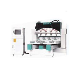 Mehta CNC Router With Multispindle, Automatic