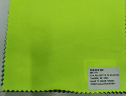 93% Polyester 7% Spandex Mirror Knit Fabrics 200 GSM