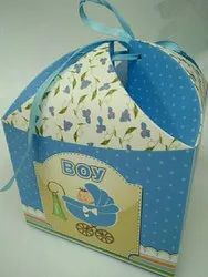 Baby Boy Announcement Box
