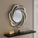 Designer Round Glass Mirror