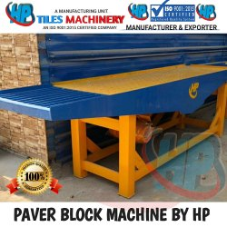 Paver Block Machine