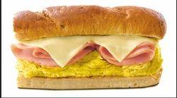 Chicken Slice Egg & Cheese Burger