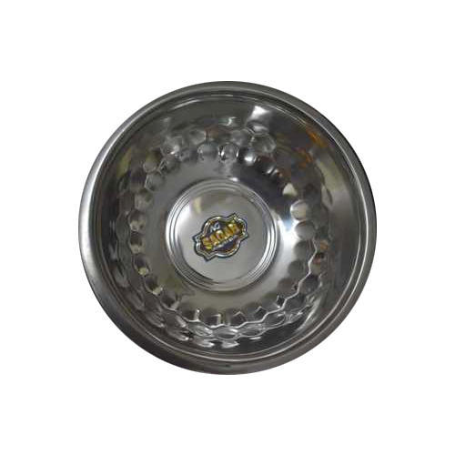 AG Sagar 12 inch Diamond Stainless Steel Bowls, for Home