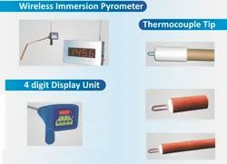 Wireless Immersion Pyrometer