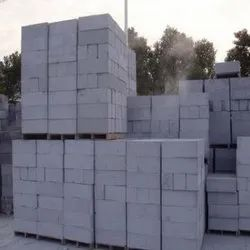 Ultratech Cement Rough AAC Concrete Block 100mm, For Partition Walls, Size: 24 x 8 x 4 In