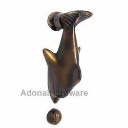 Fish Brass Door Knocker