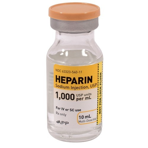 hepamerz 10 ml heparin injection and intravenous rs 230 pack id